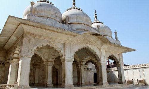 Zdjęcie INDIE / Agra / Czerwony Fort / Moti Masjid