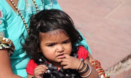 Zdjęcie INDIE / Agra / Czerwony Fort / Słodziak