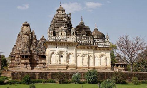 Zdjecie INDIE / - / Khajuraho / Świątynie