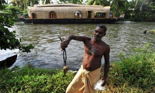 Zdjecie INDIE / Kerala / --- / Rozlewiska w okolicach Allapey