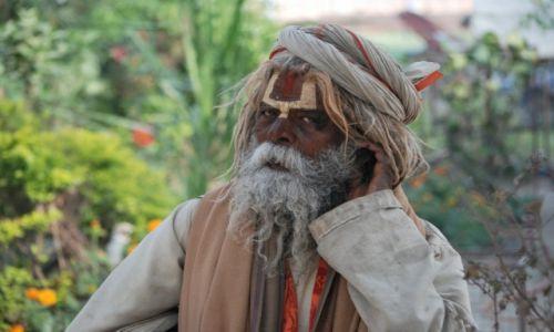 Zdjecie INDIE / - / Indie / Sadhu z Varanasi