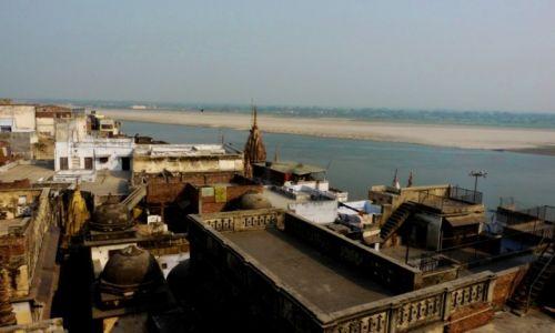 Zdjęcie INDIE /  Uttar Pradesh / Waranasi / Ganga