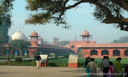 Zdjecie INDIE / brak / Agra / Taj Ganj
