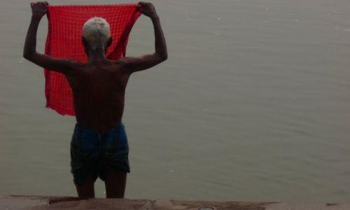 Zdjęcie INDIE /  Uttar Pradesh  / Waranasi  / Pranie