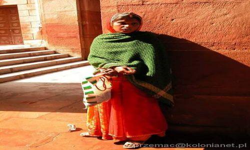 Zdjecie INDIE / brak / Bikaner / Młoda Hinduska