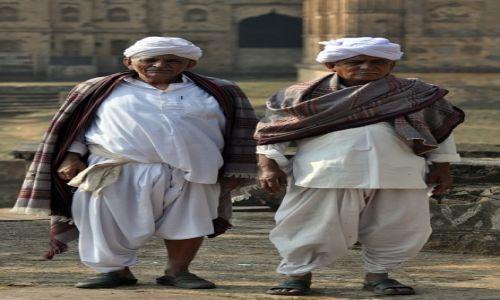 Zdjęcie INDIE / Madhya Pradesh / Orchha / Bramini na wycieczce