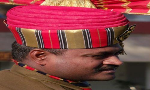 Zdjecie INDIE / Amritsar District / Attari / Żołnierz
