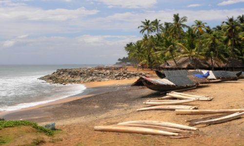 Zdjecie INDIE / Kerala / Edava / Wsi spokojna, wsi wesoła...