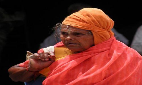 Zdjecie INDIE / Tamil Nadu / Suchindram / Twarze Indii 4 - pielgrzymka