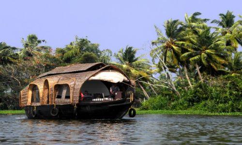 INDIE / Kerala / Aleppey - rozlewiska / Na łodzi