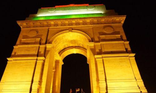 Zdjecie INDIE / , / New Delhi / Brama Indii
