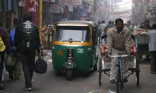 Zdjecie INDIE / Paharganj / Delhi / Konkurs - Main Bazar przed remontem