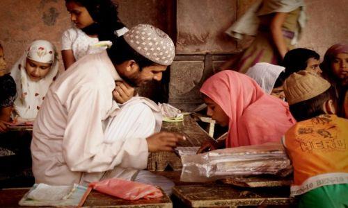 Zdjecie INDIE / Uttar Pradesh / Agra / W szkole...