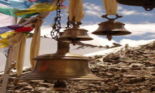 Zdjęcie INDIE / Ladakh / Dolina Nubra  / Khardung La - najwyzsza przełecz drogowa 5600m