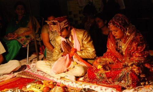 Zdjecie INDIE / New Delhi / Rohtak / Indyjski ślub