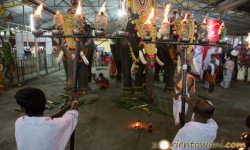 INDIE / Kerala / Thrikkakara / Obchody Święta Onam