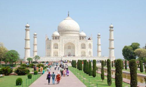 Zdjęcie INDIE / Uttar Pradesh / Agra / Monument miłości