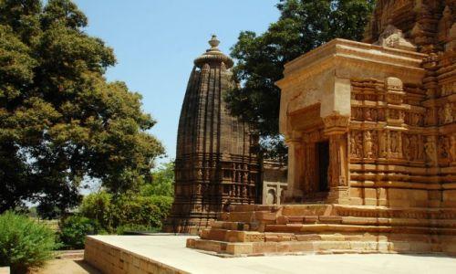 Zdjęcie INDIE / Madhya Pradesh / Khajuraho / Świątynia w Khajuraho