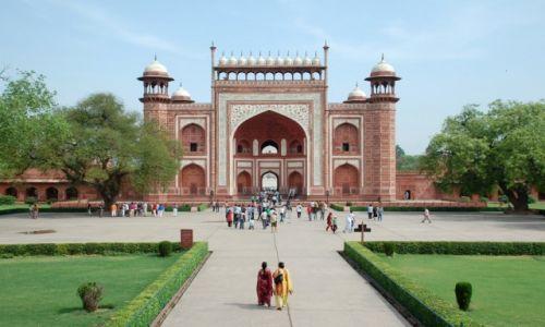 Zdjęcie INDIE / Uttar Pradesh / Agra / Kompleks Taj Mahal
