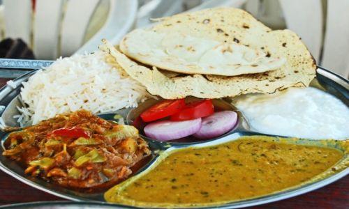 INDIE / Uttar Pradesh / Agra / Thali