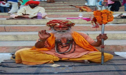 Zdjecie INDIE / Uttar Pradesh / Varanasi / Baba