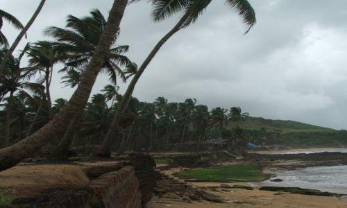 INDIE / Goa / Anjuna / Anjuna beach- raj hipisów