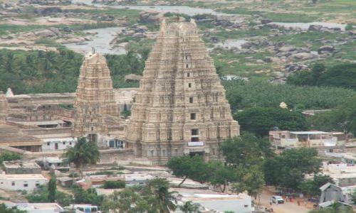 INDIE / Karnataka / Hampi / Zaginione miasto