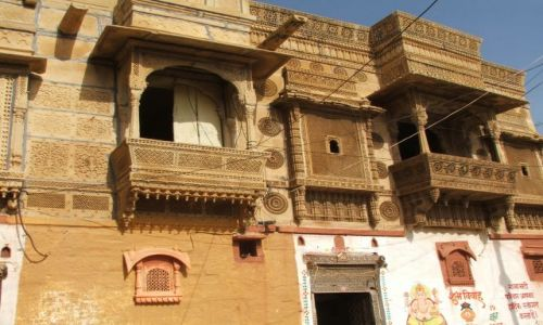 Zdjęcie INDIE / Radjastan / Jaisalmer / Havli