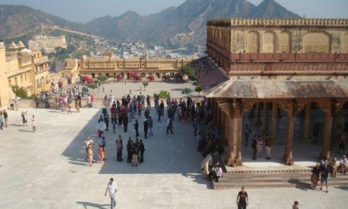 Zdjecie INDIE / - / dżajpur / fort amber