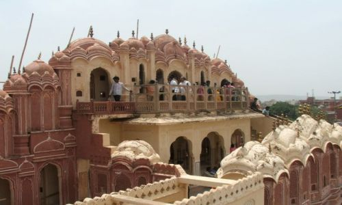 Zdjęcie INDIE / Radjastan / Jaipur / Pałac wiatrów