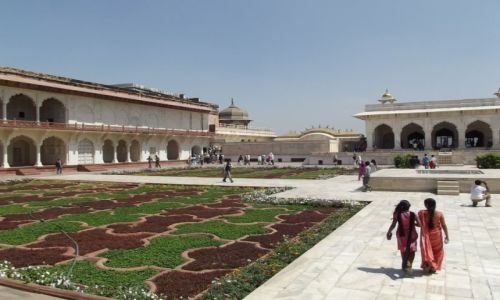Zdjęcie INDIE / Uttar Pradesh / Agra / Czerwony Fort