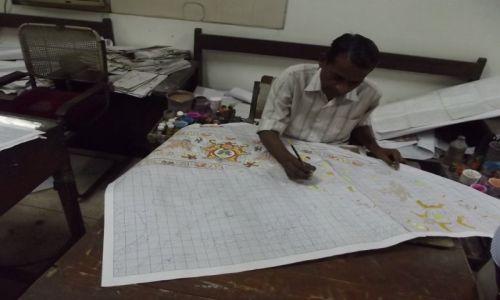 Zdjęcie INDIE / - / Agra / projektowanie wzorów dywanów