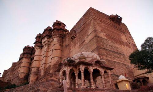 Zdjecie INDIE / Jodhapur / Mehrangarh / kawał twiedzy :)