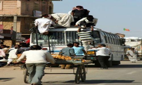 Zdjecie INDIE / Jaisalmer / pustynia / miejsce w autobusie dla kazdego