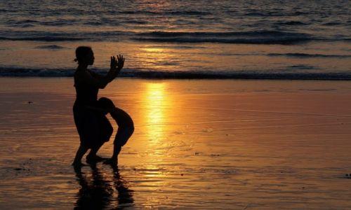 Zdjecie INDIE / Goa / Arambol / Tai-chi na Goa