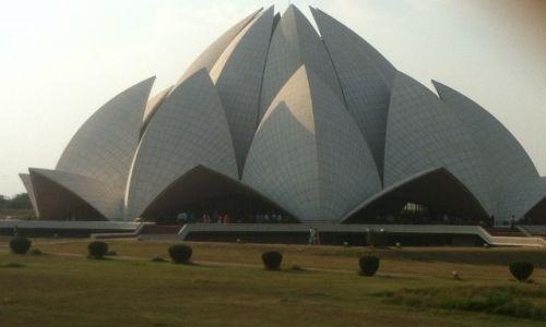 Zdjecie INDIE / Delhi / New Delhi / Lotos temple