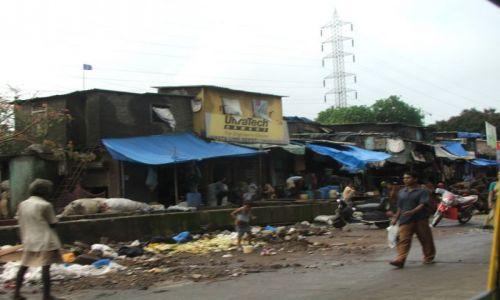 Zdjęcie INDIE / Maharashtra / Mumbaj / Slamsy w Mumbaju