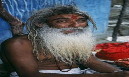 Zdjęcie INDIE / Himachal Pradesh / Na południe od Rampur  / Święty mąż