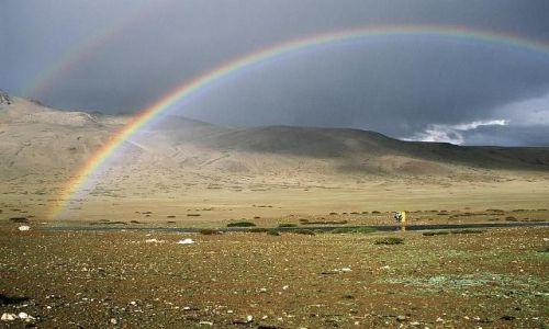 Zdjecie INDIE / Ladakh  / Równina Morei / Tęcza