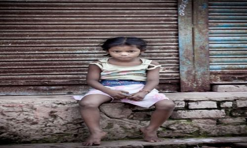 Zdjęcie INDIE /   / Agra / Mała mieszkanka Agry