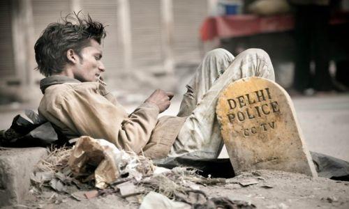 Zdjęcie INDIE /   / Dehli / Hinduski buntownik bez powodu