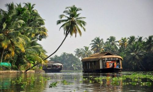 Zdjecie INDIE / - / Kerala / Backwaters