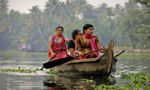 INDIE / - / Kerala / Backwaters