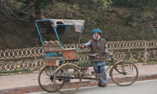 Zdjęcie INDIE / - / Agra / Riksza, riksza .....