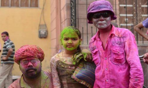 Zdjęcie INDIE / - / Bikaner / Holi