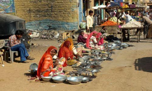 Zdjecie INDIE / - / Jaisalmer / Na targu