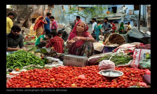 INDIE / Rad�astan / Jaipur / TARG KOLOR�W