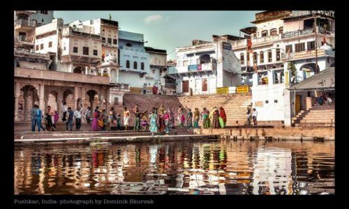 Zdjecie INDIE / Radżastan / Pushkar / ŚWIAT KOLORU