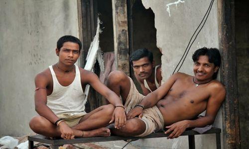 Zdjęcie INDIE / Dehli / Dehli / Bezdomni w Dehli