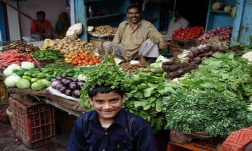 Zdjecie INDIE / Uttar Pradesh i Uttaranchal / Agra / Wegetarianizm  to radość